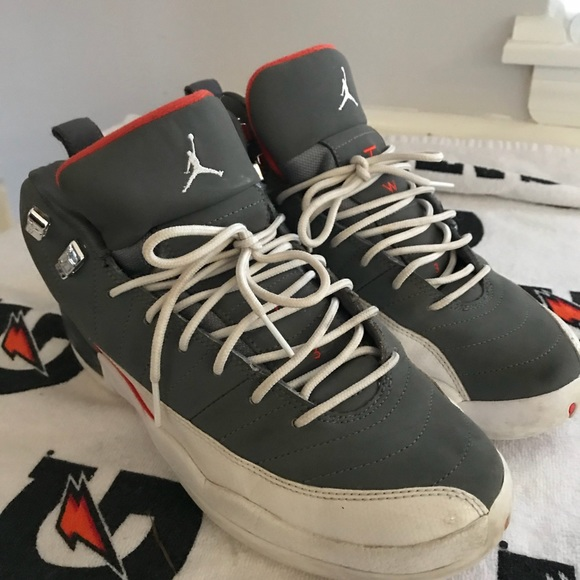 bfab2a6f619853 Jordan Other - Nike Air Jordan 12 Cool Grey White Team Orange